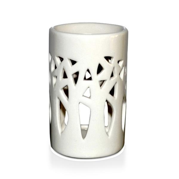 Zen' Arôme - Brûle Parfum en Céramique Forêt Blanc