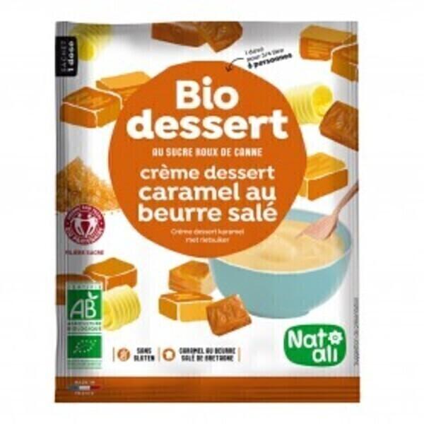 Natali - Préparation pour crème caramel au beurre salé 60g bio