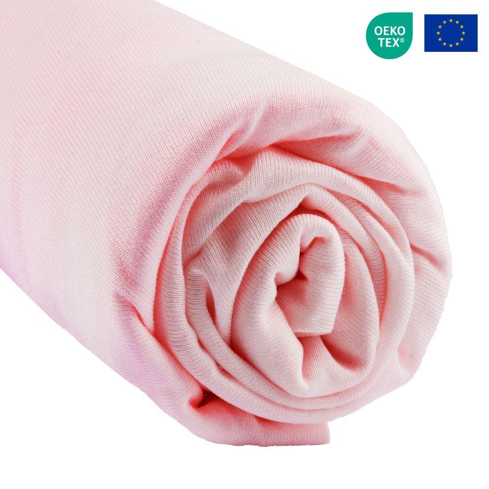 Easy Dort - Drap housse 160x200 cm Lit Deux places King size Bambou - Rose