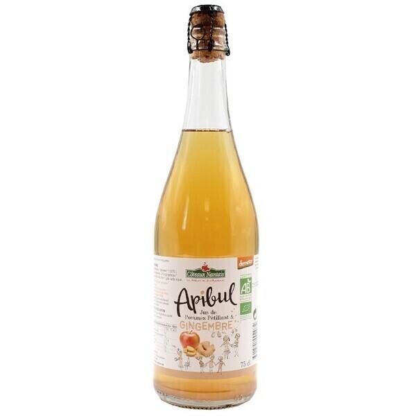Côteaux Nantais - Apibul pommes gingembre 75 cl Demeter