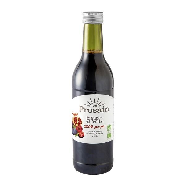 ProSain - Pur jus de 5 superfruits 50cl bio