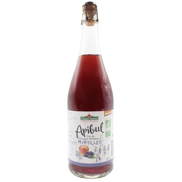 Côteaux Nantais - Apibul pommes myrtilles 75 cl Demeter
