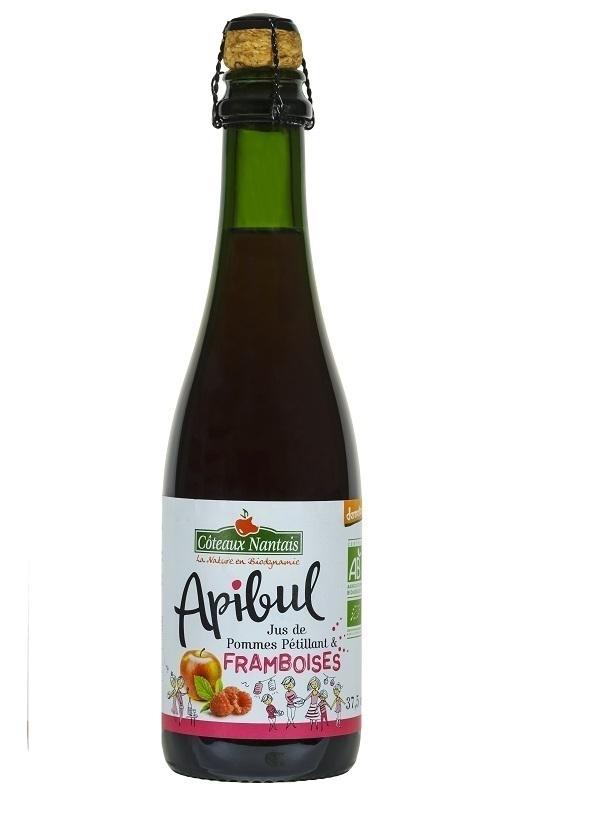 Côteaux Nantais - Apibul pommes framboises 37.5 cl Demeter