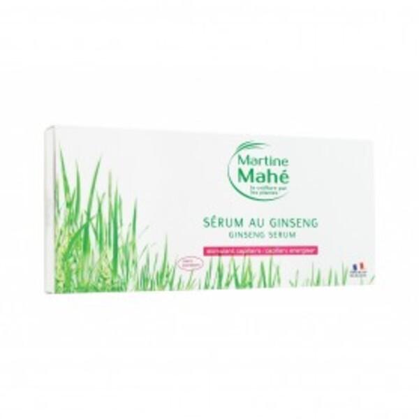 Martine Mahé - Sérum au Ginseng - Boîte de 10 ampoules de 10ml