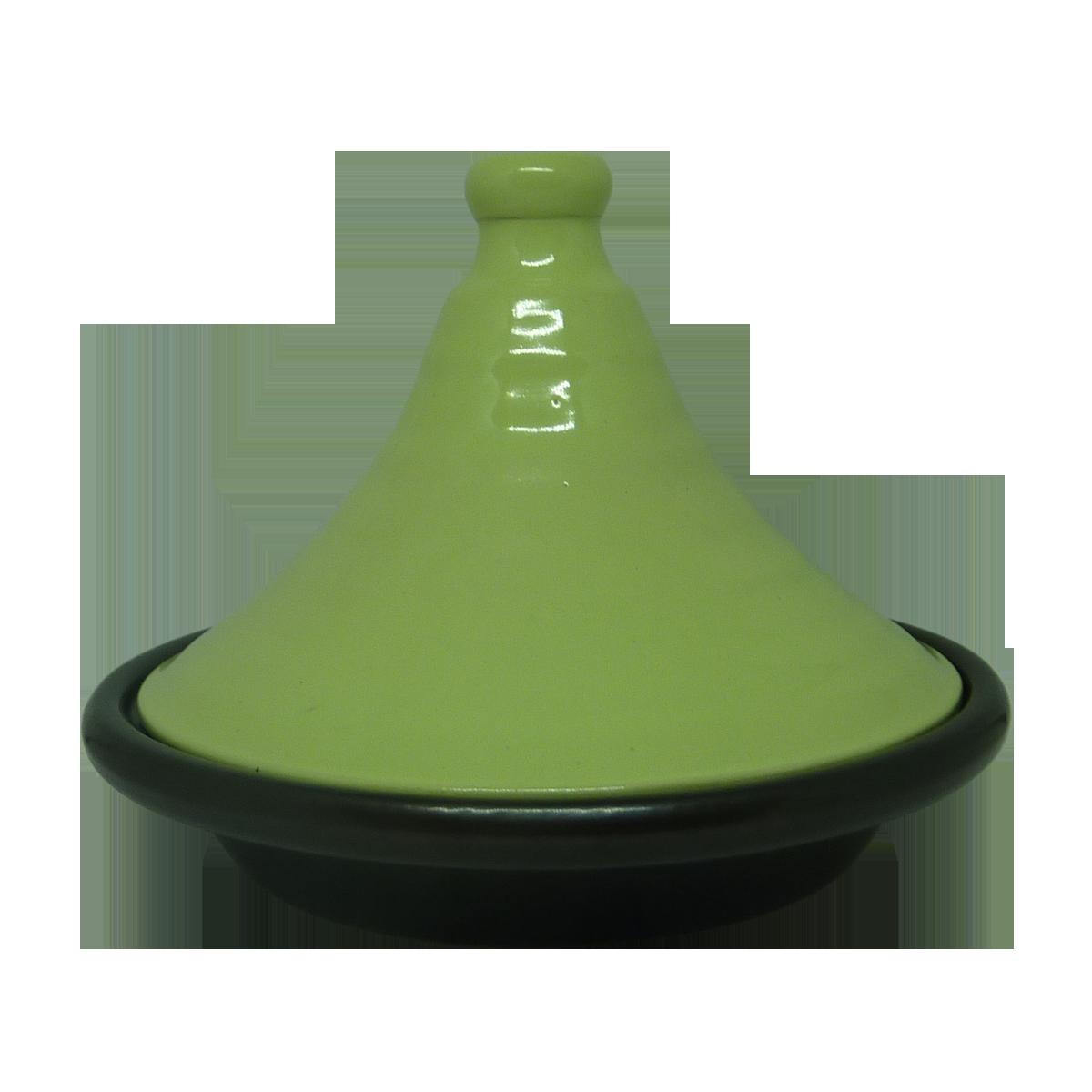 Esprit Cuistot - Tajine individuel céramique Citron vert 21 cm