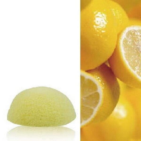 Abricot et Bergamote - Eponge Konjac Citron