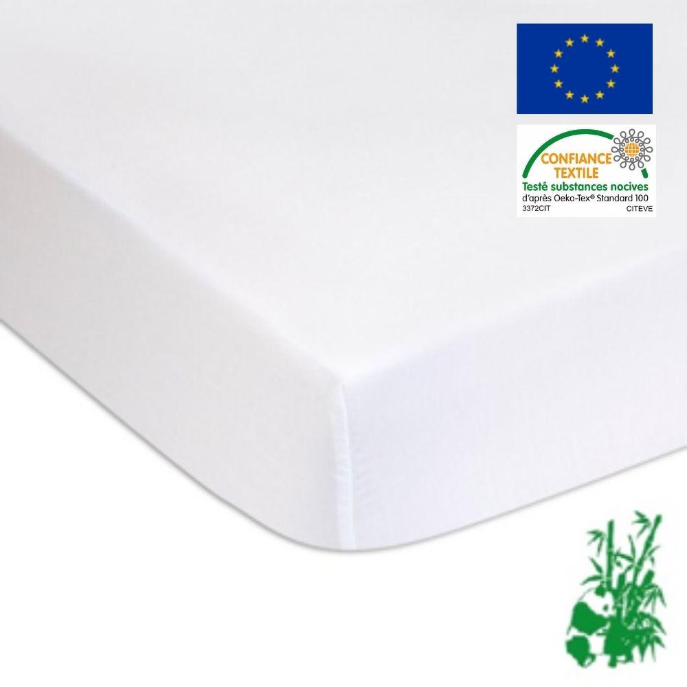 Easy Dort - Alese eponge Bambou PU impermeable pour lit 90x190 cm