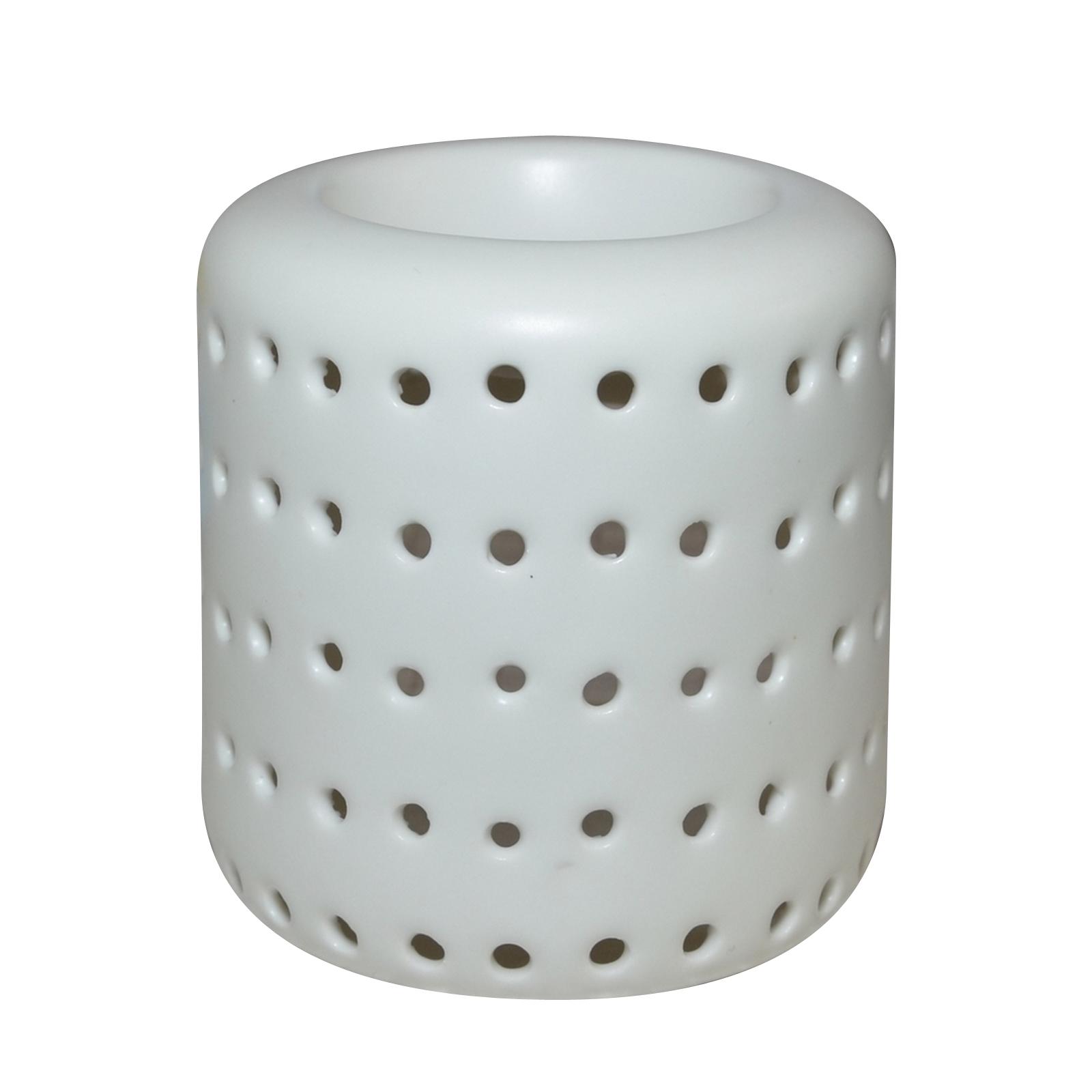 Zen' Arôme - Brûle Parfum en Céramique Coliseo Blanc