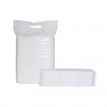 P'tits Dessous - Lot de 30 inserts jetables Petit Pea, 10x34 cm