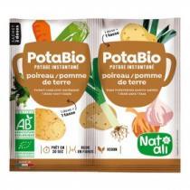 Natali - Potabio poireau-pomme de terre 2x8,5g bio