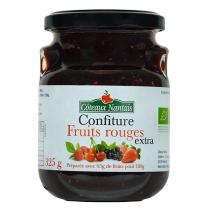 Côteaux Nantais - Confiture fruits rouges extra 325 g