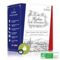 Cultivea - Kit Prêt à Pousser Herbes Provence BIO