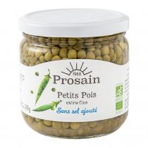 ProSain - Petits pois extra-fins préparés sans sel ajouté 38,8cl bio