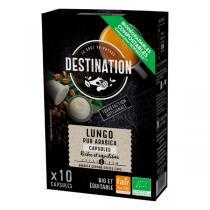 Destination - Lungo pur arabica Capsules x10