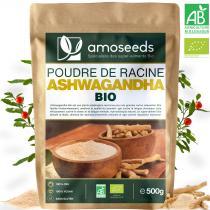 amoseeds - Ashwagandha en Poudre Bio 500g