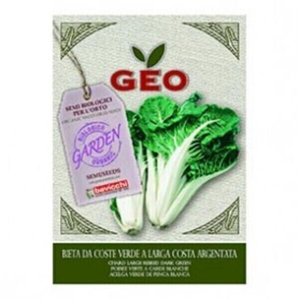 Géo - Semences pour Poirée Verte à Carde Blanche Bio 10g