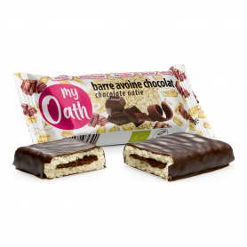 My Oath - Barre Avoine-Chocolat enrobée de chocolat Bio 50g