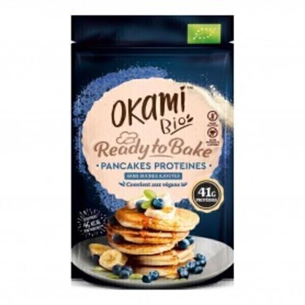 Okami Bio - Mélange pour Pancakes Protéinés Bio 125g