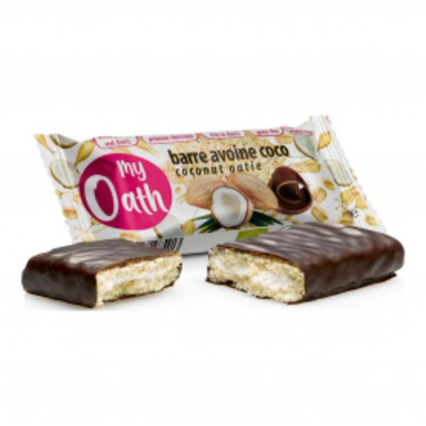 My Oath - Barre Avoine-Coco enrobée de chocolat Bio 50g