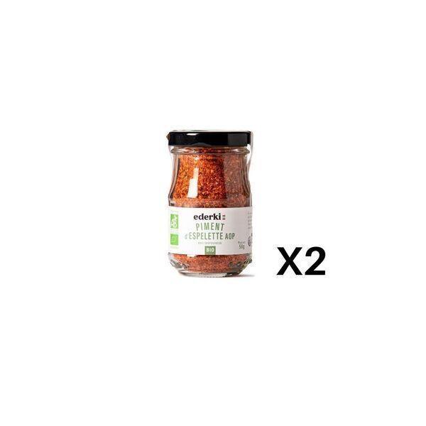 Ederki - Piment d'Espelette AOP lot de 2