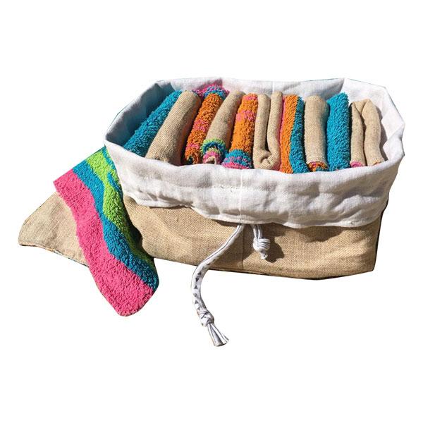 TOMO - Le kit essuie-tout lavables