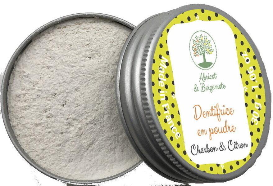 Abricot et Bergamote - Dentifrice - Charbon et Citron