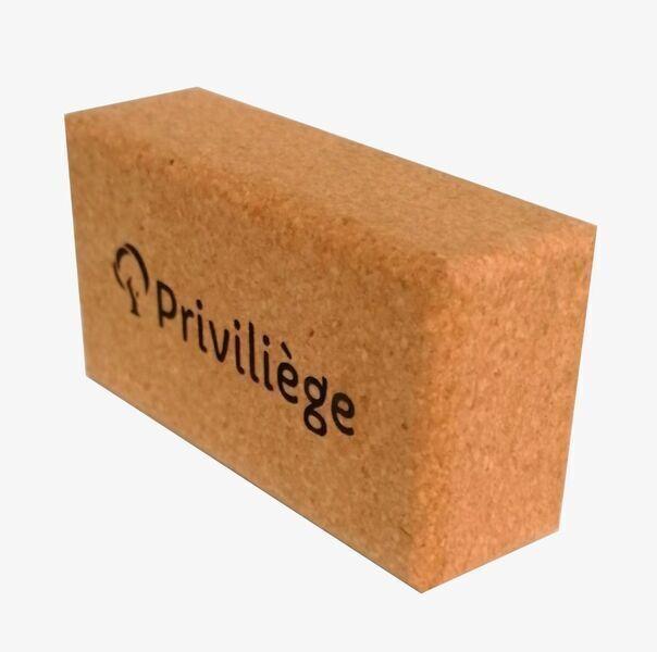 Priviliège - Brique de yoga en liège
