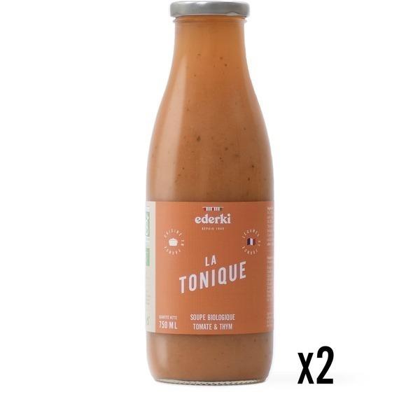 Ederki - Soupe tomate thym lot de 2