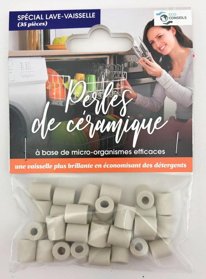 Éco-conseils - Perles de céramique - Lave-vaisselle