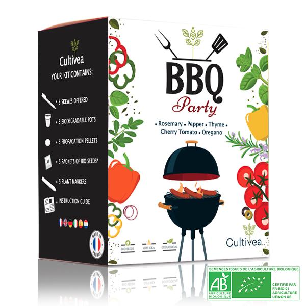 Cultivea - Mini Kit BBQ Party BIO*