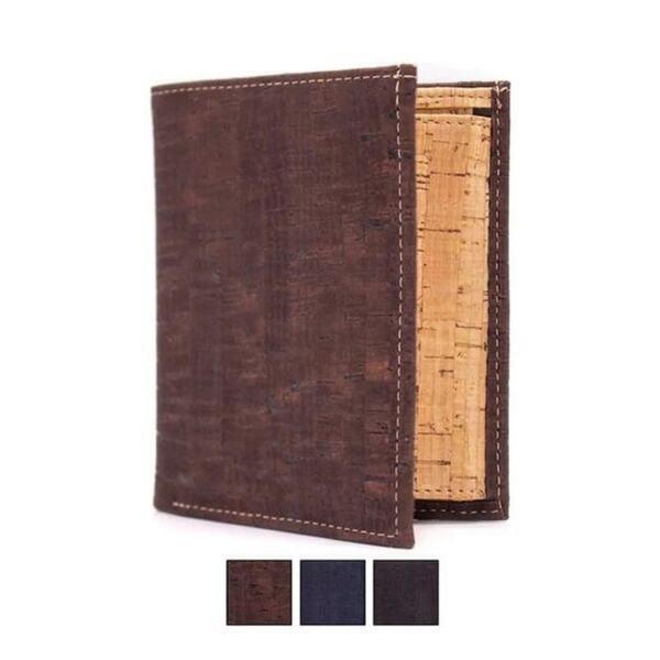 """OAK Forest - Portefeuille en liège naturel """"Pocket"""" Naturel"""