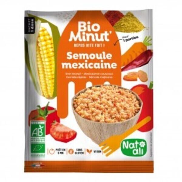 Natali - Bio minut' semoule mexicaine 80g bio