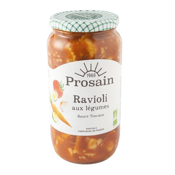 ProSain - Raviolis aux légumes 1kg bio