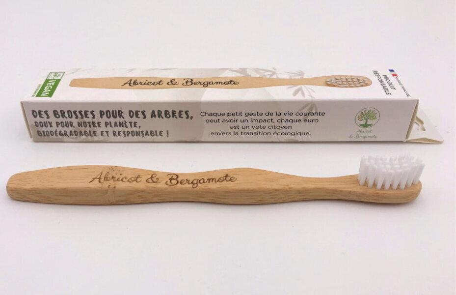 Abricot et Bergamote - Brosses à dent - Enfant blanche
