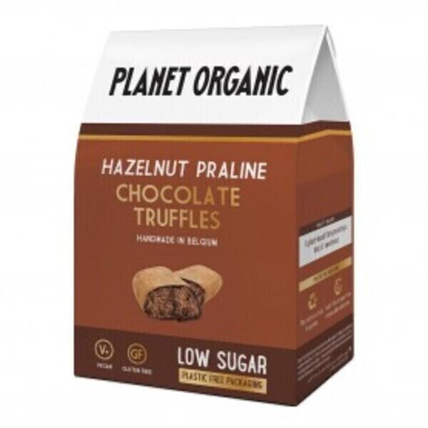 Planet Organic - Truffes Chocolatées Noisette 80g Bio