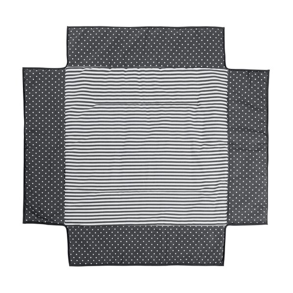 Geuther - Tour de parc noir 97x97 cm