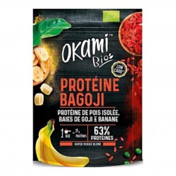 Okami Bio - Protéine de Pois BAGOJI Bio 500g
