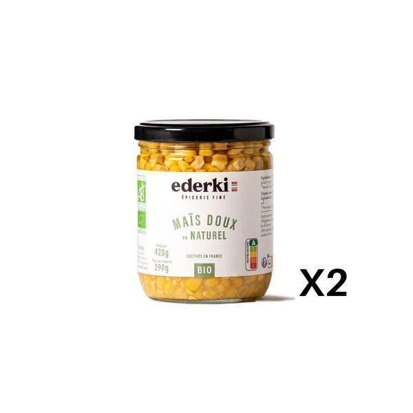 Ederki - Maïs doux lot de 2