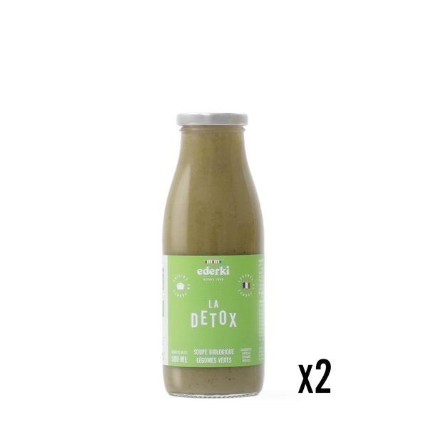 Ederki - Soupe de légumes verts lot de 2