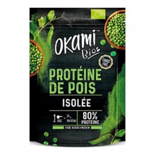 Okami Bio - Protéine de Pois isolée Bio 500g