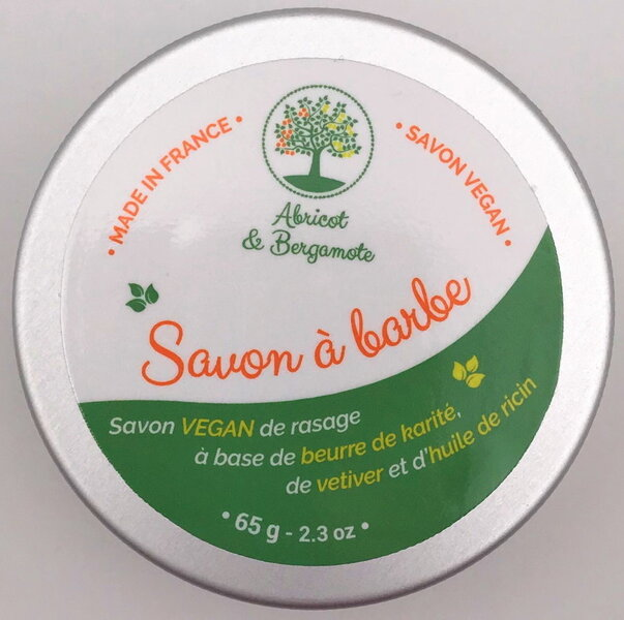 Abricot et Bergamote - Savon de rasage