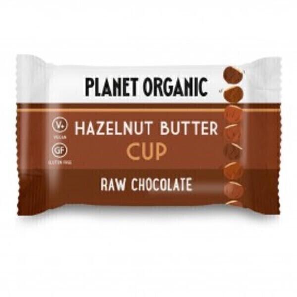 Planet Organic - Cup Beurre de Noisettes 25g Bio