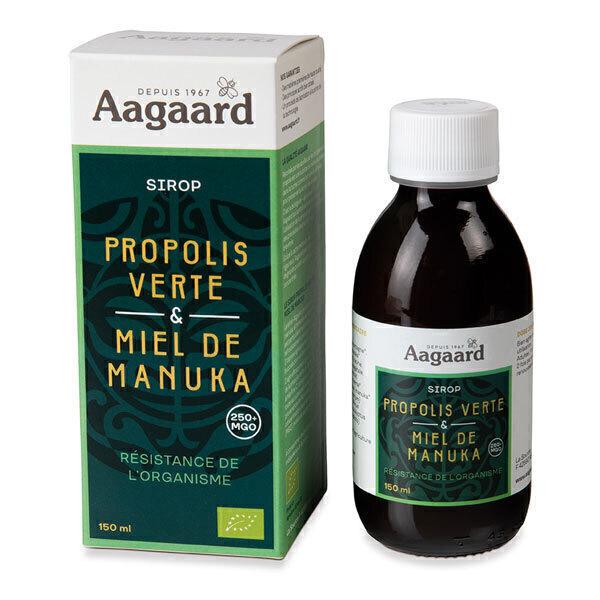 Aagaard Propolis - Sirop de Propolis verte et Miel de Manuka 150ml
