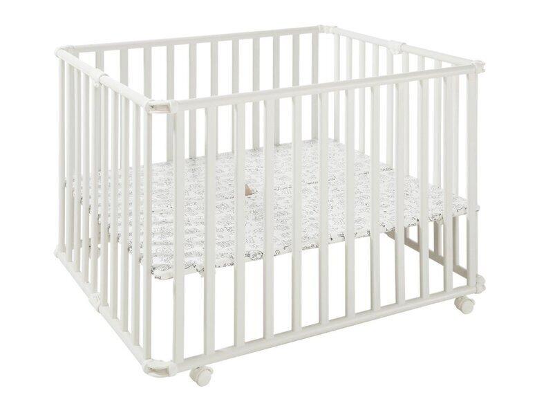 Geuther - Parc pour bébé Ameli blanc pliant 106.5 x 90 cm by Geuther