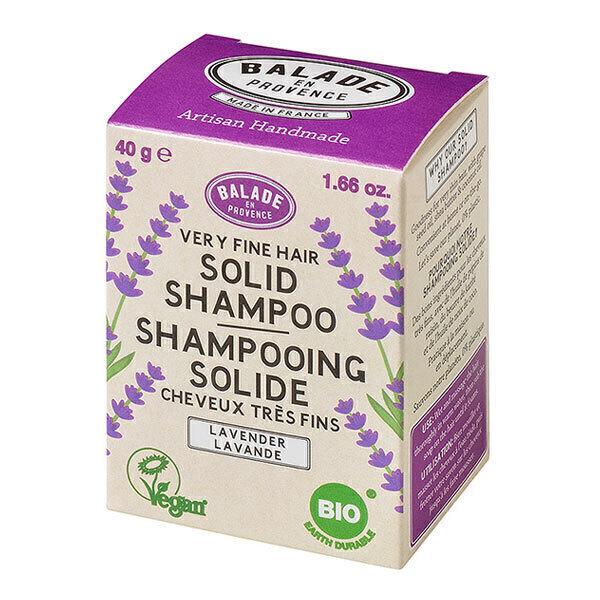 Balade en Provence - Shampoing solide lavande pour cheveux fins 40 g