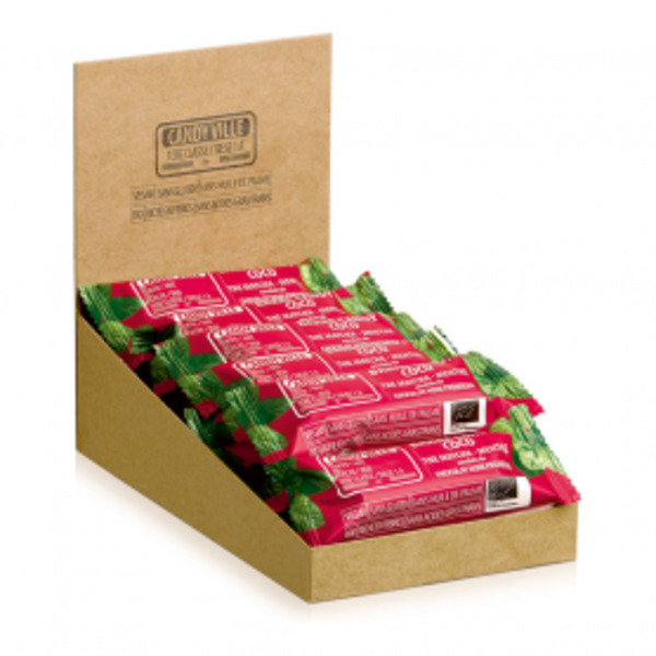 Candy Ville - Lot de 15+3 Barres Candy Coco Matcha Menthe 50g Bio