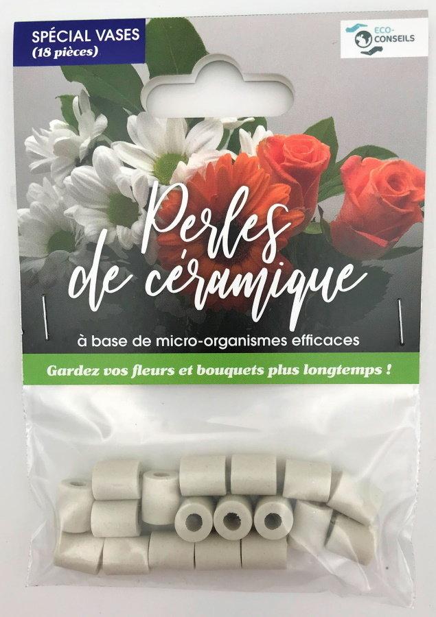Éco-conseils - Perles de céramique - Vases