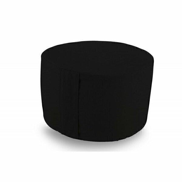 Owaï - Pouf de salon Noir