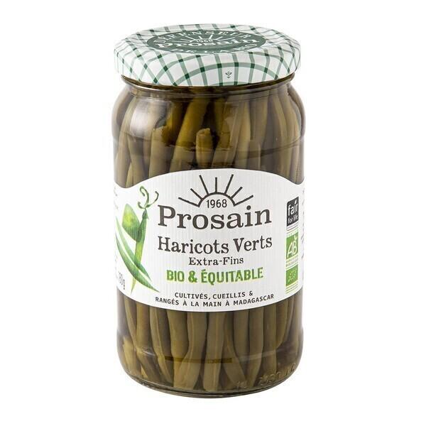 ProSain - Haricots verts extra-fins cueillis et rangés à la main 37cl bio