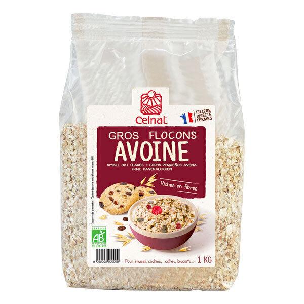 Celnat - Gros flocons d'avoine origine France 1kg